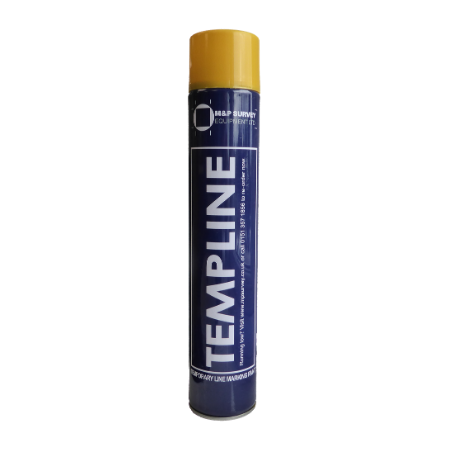 Templine temporary spray paint