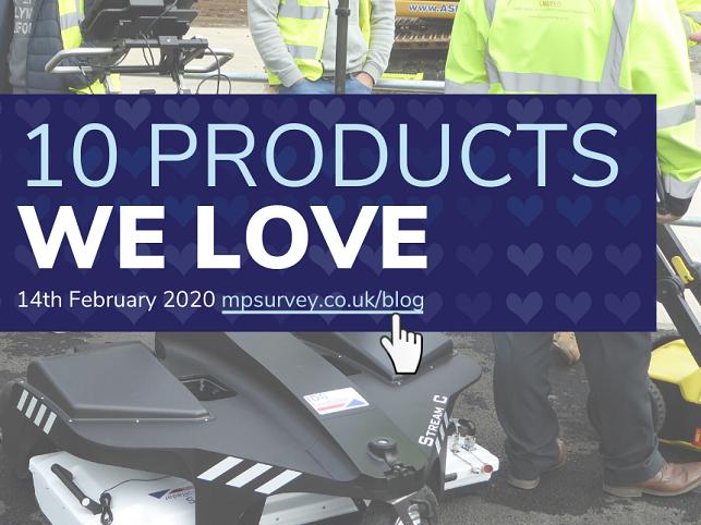 10 Products We Love M&P Survey Equipment