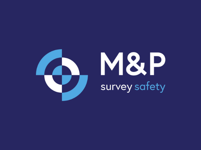 M&P Survey Equipment logo