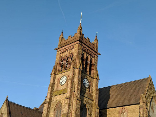 Total Station Stolen and Recovered from Church Roof - St Michaels Church